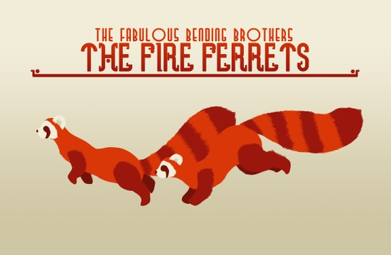 The Fire Ferrets Canvas Print