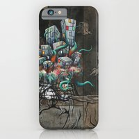 iPhone & iPod Case featuring Mending the Stumped by Daryll Peirce