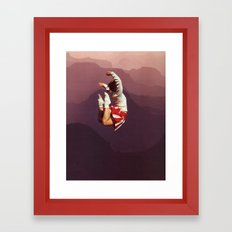 CHEERFUL Framed Art Print