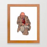 The Waistcoat Maker Framed Art Print