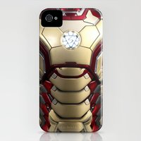 iPhone 4s & iPhone 4 Cases featuring iron/man mark XLII restyled for samsung s4 by Emiliano Morciano (Ateyo)