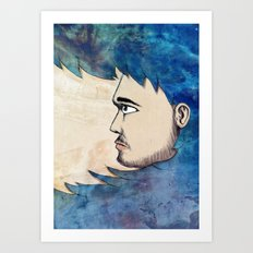 Into the Water Art Print