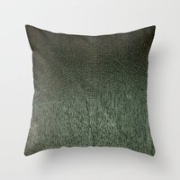 Wood v1 Throw Pillow