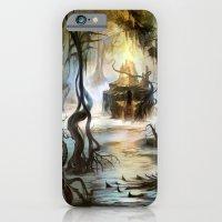 iPhone & iPod Case featuring Swamp by Veronique Meignaud MTG