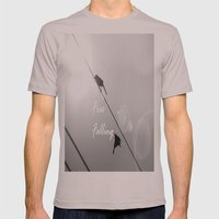 Free Falling Mens Fitted Tee Cinder SMALL