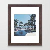 Paradise in Bali Framed Art Print