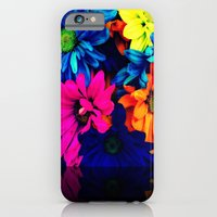 Neon Daisies iPhone 6 Slim Case