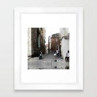 Summer space, smelting selves, simmer shimmers. 04 Framed Art Print