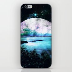Mystic Lake Teal Violet iPhone & iPod Skin