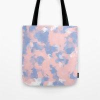 BLOSSOMS - ROSE QUARTZ / SERENITY Tote Bag