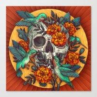 Dia de los Muertos Canvas Print