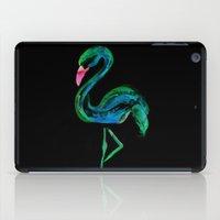 Flamingo black iPad Case