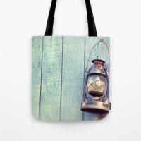Blue Lantern  Tote Bag