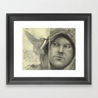 Moleskine Sketchbook Framed Art Print