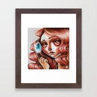 Soul Gem :: Red Headed Scamp Framed Art Print