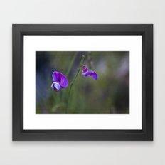 Flor de desierto Framed Art Print