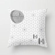 Star Wars Death Star, Ti… Throw Pillow