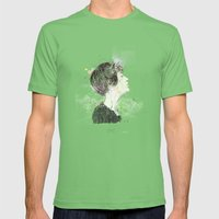 Krakow (2) Mens Fitted Tee Grass SMALL