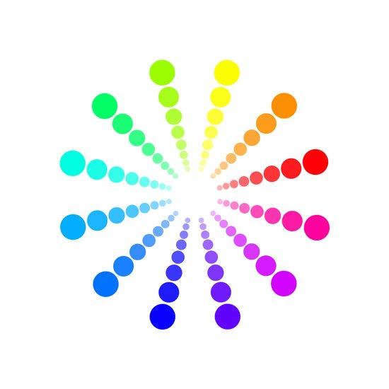dots & circles o2 Canvas Print
