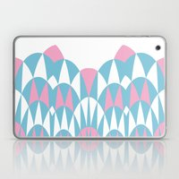 Modern Day Arches Pink Laptop & iPad Skin