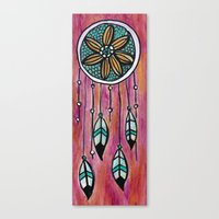 Dreamcatcher II Canvas Print