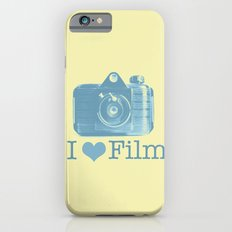 I ♥ Film (Yellow/Blue) iPhone 6 Slim Case