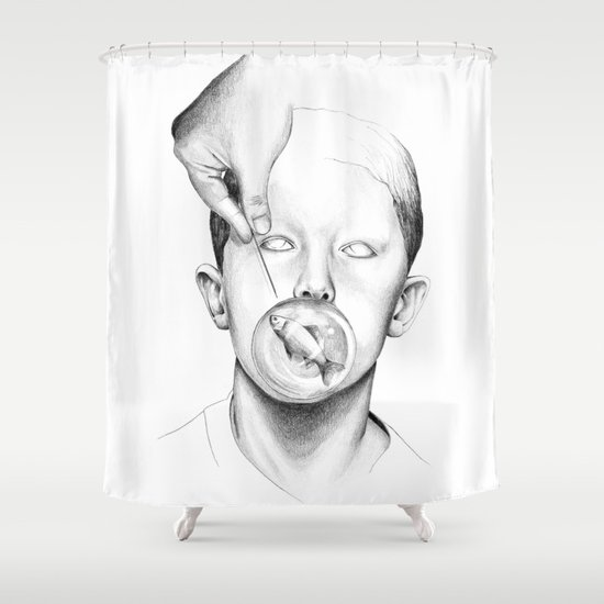 Free Billy! Shower Curtain