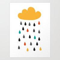A Rainy Day Art Print