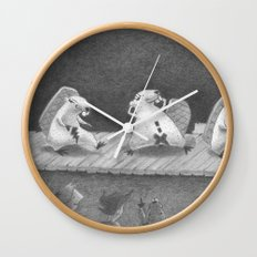 Hot Dam Wall Clock