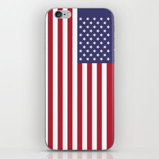 USA Flag - (HD Image) Au… iPhone & iPod Skin