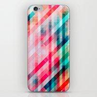 Colorful Geometric Pattern iPhone & iPod Skin