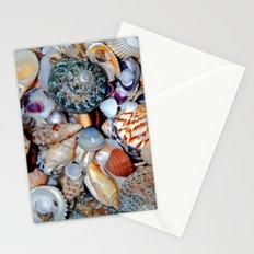 Seashells By the Seashore Stationery Cards