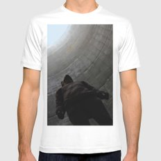 No. 3756 Mens Fitted Tee White SMALL