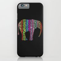 Coloured Elephant iPhone 6 Slim Case