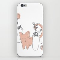 Fatty Cat iPhone & iPod Skin