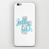 Jellyfish Cross iPhone & iPod Skin