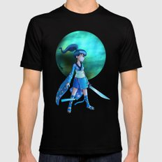 Pluto Princess Black SMALL Mens Fitted Tee