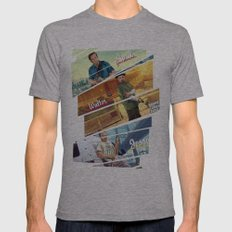 Breaking Bad mashup GTA V  Mens Fitted Tee Athletic Grey SMALL