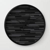 Black Estival Mirage Wall Clock