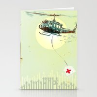 Glue Network Print Serie… Stationery Cards