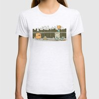 El Plan Womens Fitted Tee Ash Grey SMALL