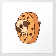 Art Print featuring Puglie Cookie by Puglie