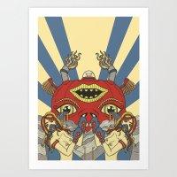 Mystical Pop(pers) Art Print