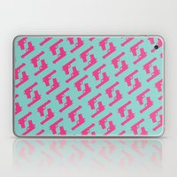Mint And Pink Guns Laptop & iPad Skin