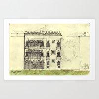 Ca' D'oro - Venice Art Print