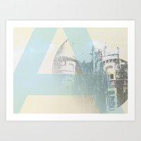 alpha:A Art Print