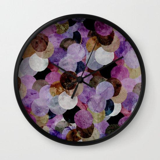 Circles III Wall Clock
