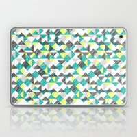 scribble triangles Laptop & iPad Skin