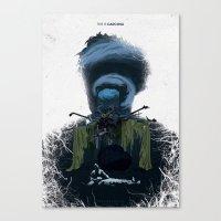 True Detective - Form An… Canvas Print