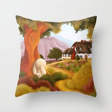 Pathway to Home Throw Pillow
